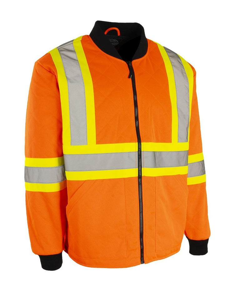 Hi Vis Safety Freezer Jacket - Hi Vis Safety