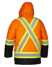 Hi Vis Safety Winter Cargo Parka - Hi Vis Safety