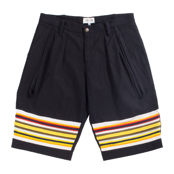 Navy balloon fit shorts