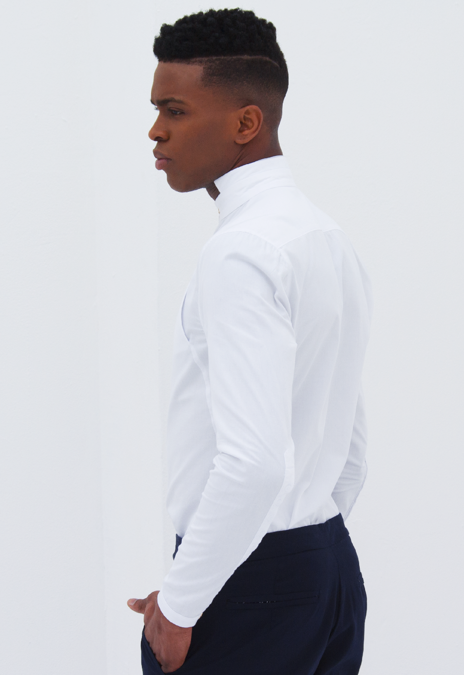LACAG WHITE OXFORD SHIRT
