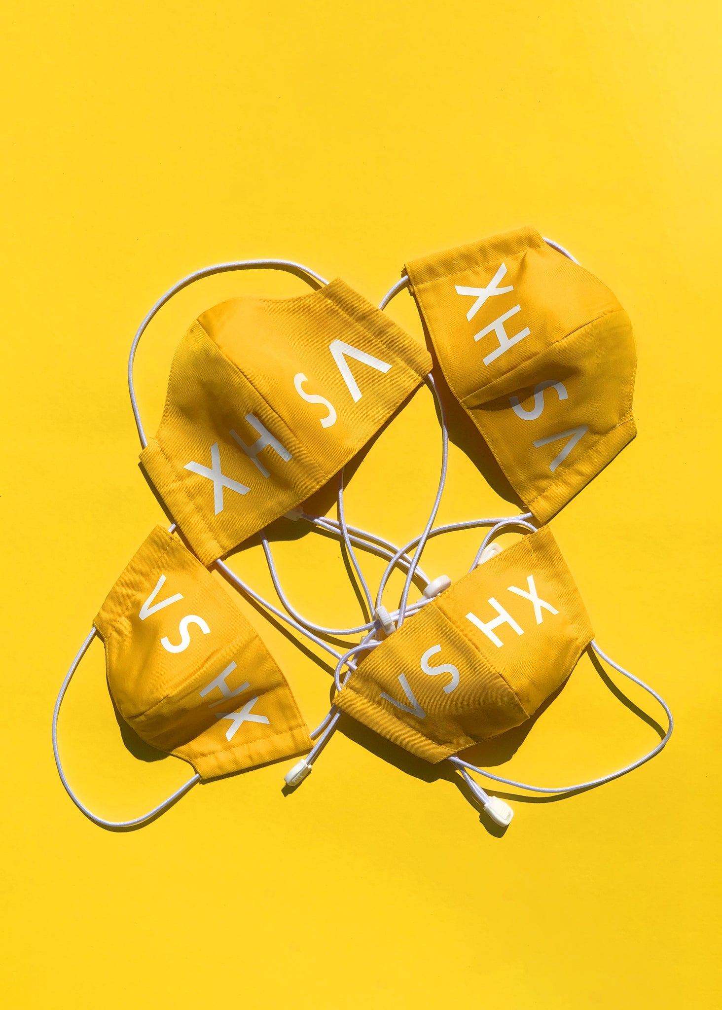 Yellow Xhosa Logo Mask