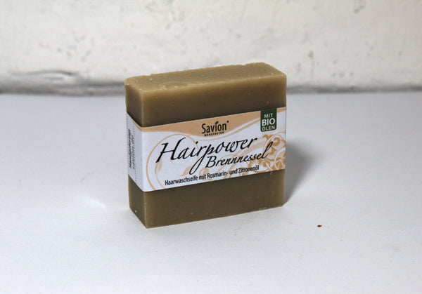Hair soap Nettle - for normal hair
