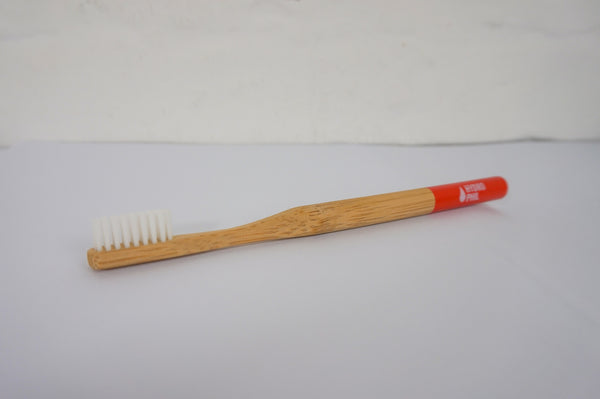 Bamboo toothbrush for adults