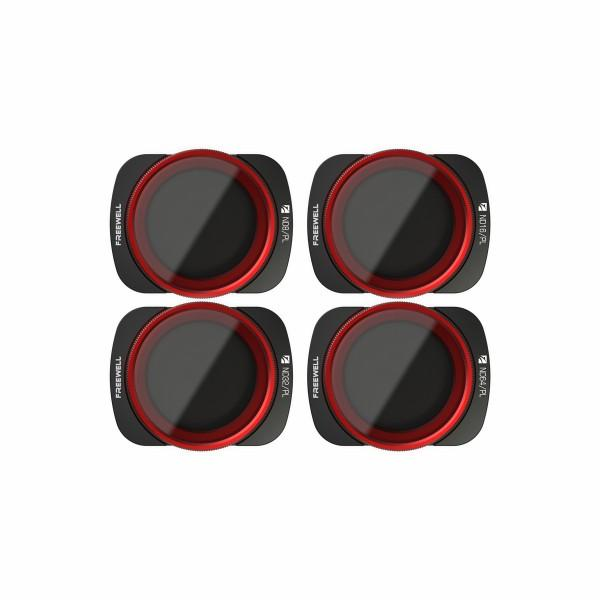 DJI Osmo Pocket Filters - Bright Day - 4 Pack
