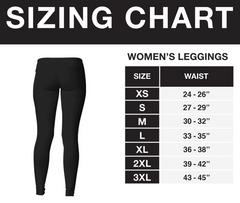 Leggings Measurement Graphic