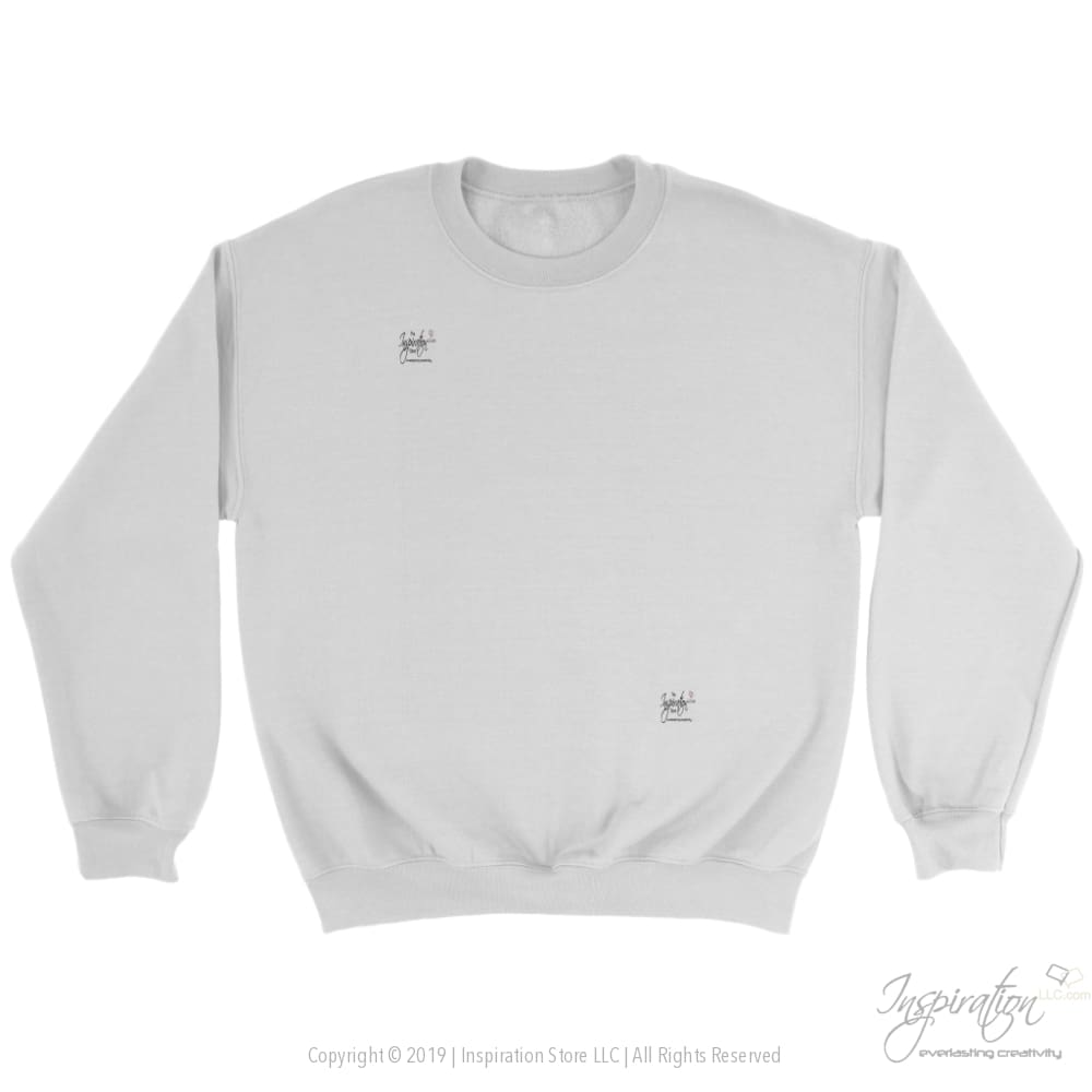 Customify Crewneck Sweatshirt - Free Shipping - T-Shirt - Crewneck Sweatshirt / White / S - Inspiration Store Llc