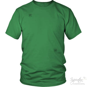 Customify It Yourself - Free Shipping - T-Shirt - District Unisex Shirt / Kelly Green / S - Inspiration Store Llc