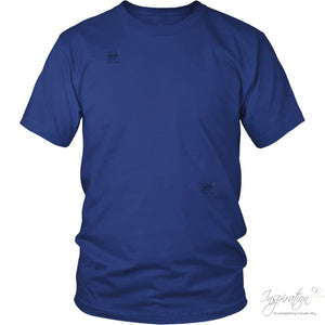 Customify It Yourself - Free Shipping - T-Shirt - District Unisex Shirt / Royal Blue / S - Inspiration Store Llc