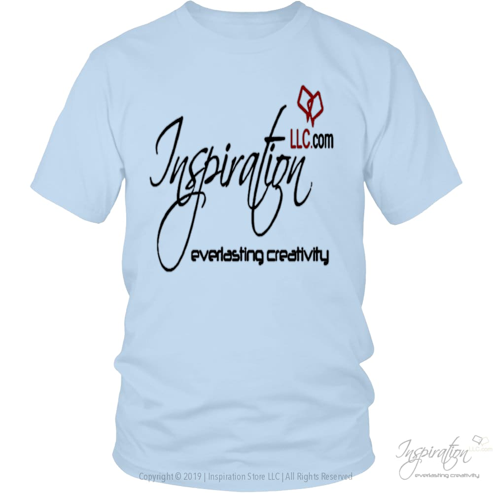 Free Inspiration T-Shirt Personalizable - T-Shirt - District Unisex Shirt / Ice Blue / M - Inspiration Store Llc