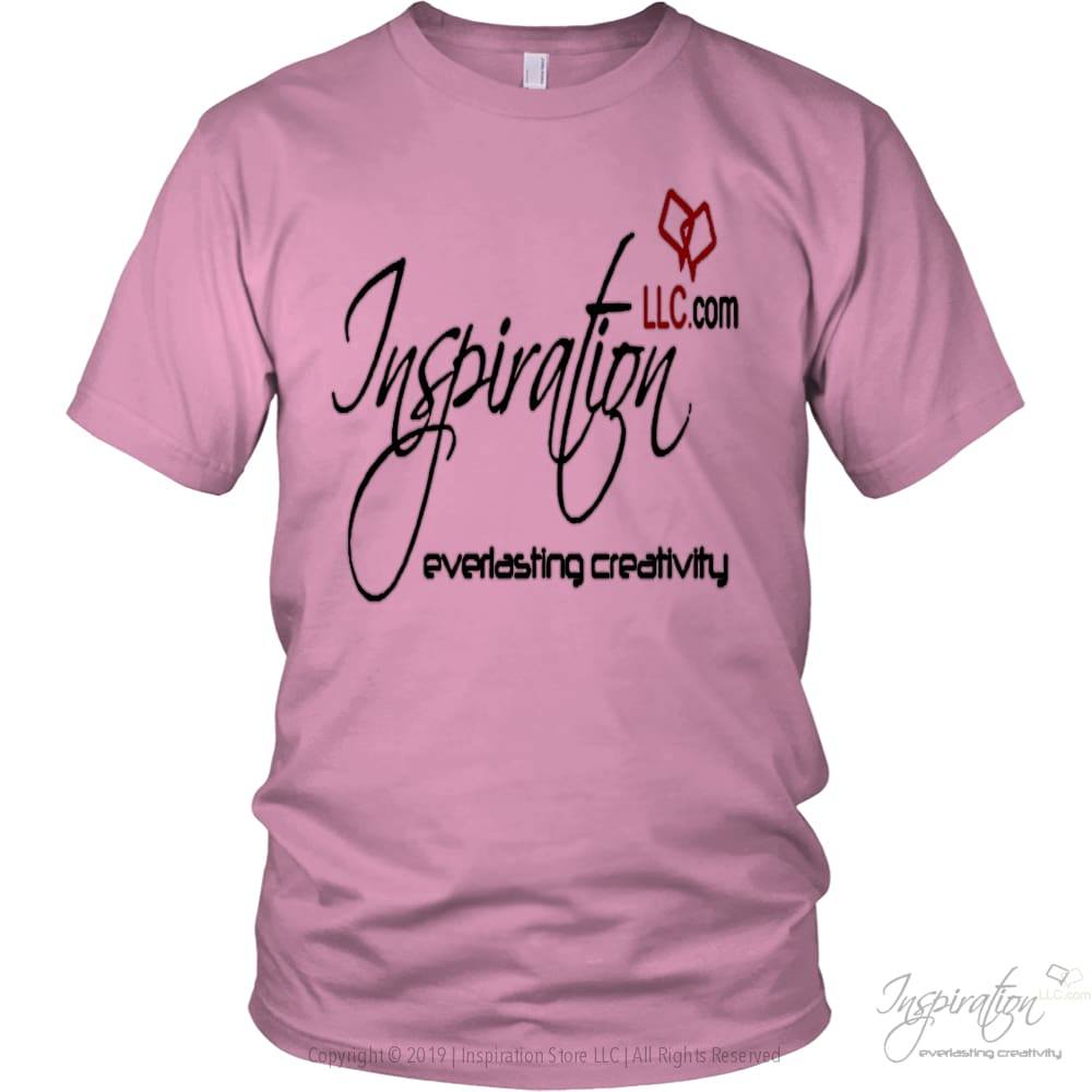 Free Inspiration T-Shirt Personalizable - T-Shirt - District Unisex Shirt / Pink / S - Inspiration Store Llc