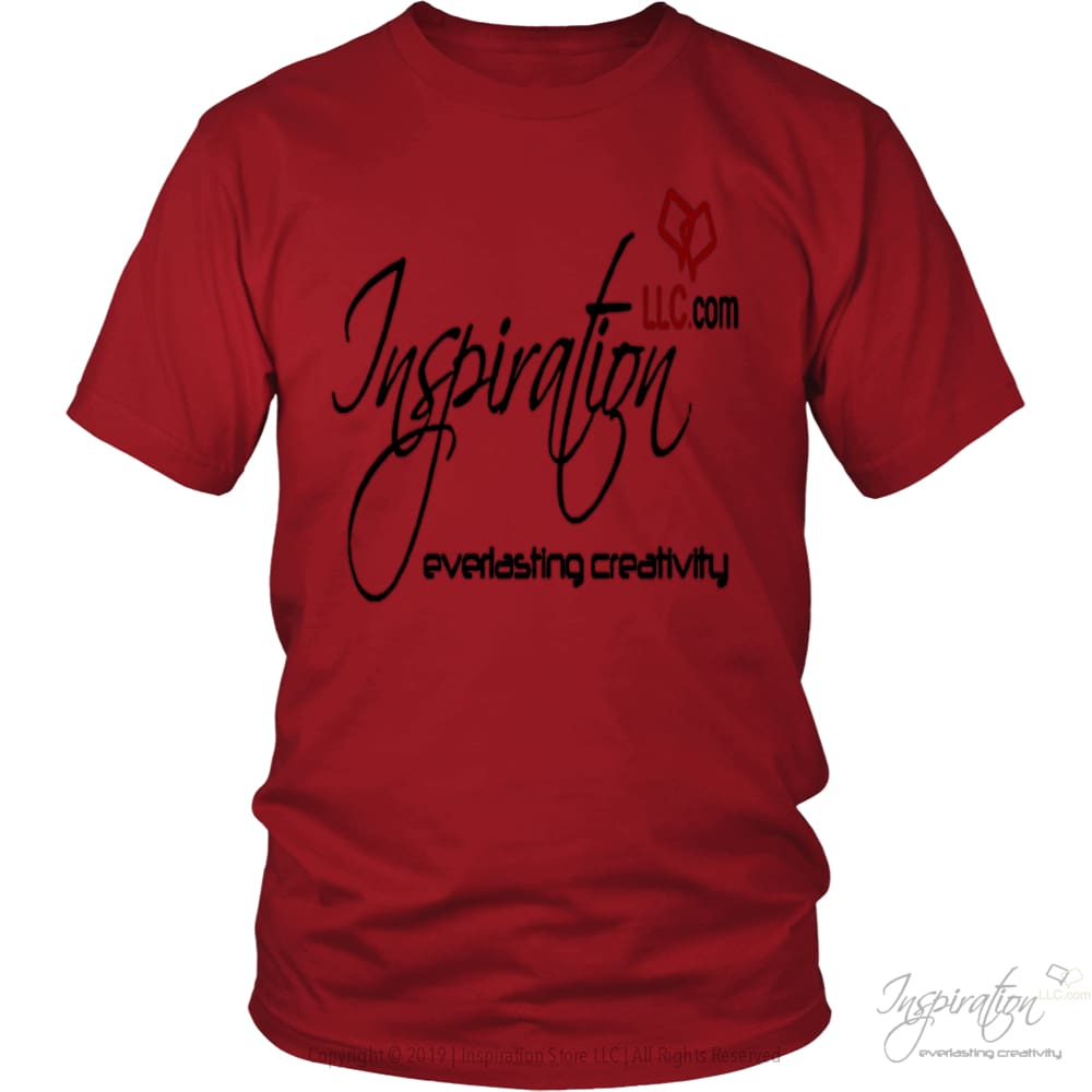 Free Inspiration T-Shirt Personalizable - T-Shirt - District Unisex Shirt / Red / S - Inspiration Store Llc