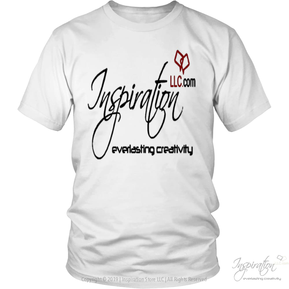 Free Inspiration T-Shirt Personalizable - T-Shirt - District Unisex Shirt / White / S - Inspiration Store Llc