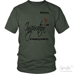 Inspiration - Melody - T-Shirt - District Unisex Shirt / Olive / S - Inspiration Store Llc