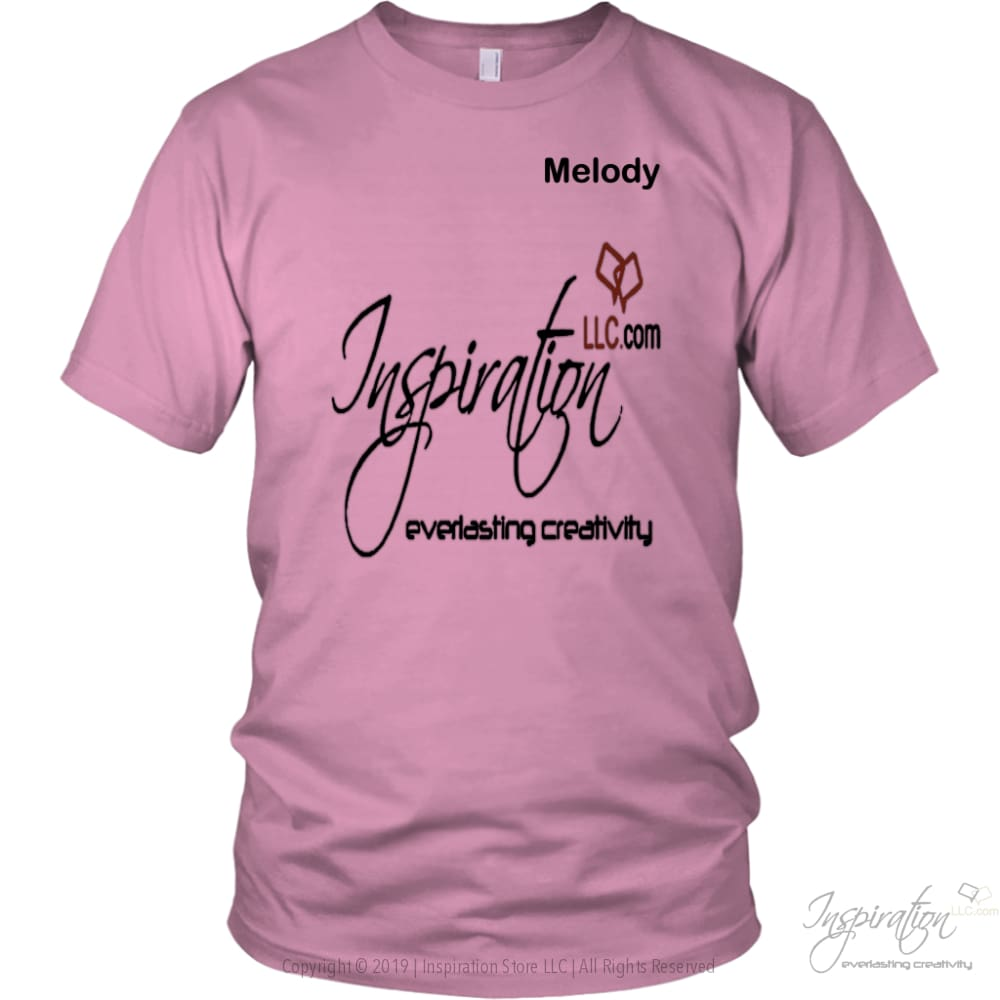Inspiration - Melody - T-Shirt - District Unisex Shirt / Pink / S - Inspiration Store Llc