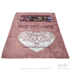 Integral Heart Fleece Blanket (Style C) - Blankets - Inspiration Store Llc