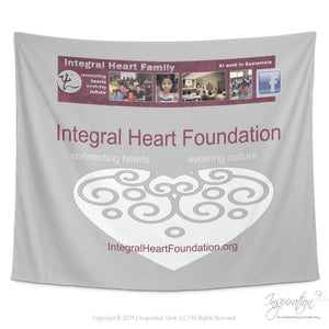 Integral Heart Tapestry - (Style B) - Tapestries - Tapestry - 60 X 51 - Inspiration Store Llc