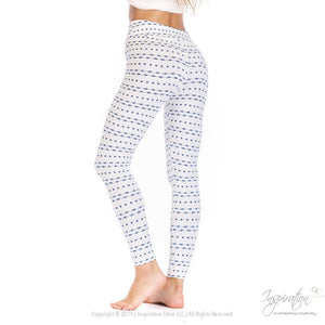 Yoga Band Material Leggings - (Style #17) Free Shipping - Leggings - Inspiration Store Llc