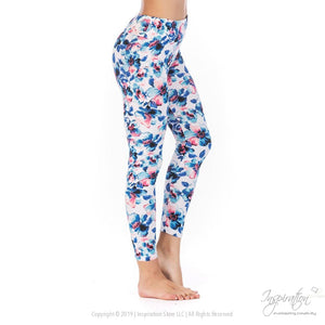 Yoga Band Material Leggings - (Style #27) Free Shipping - Leggings - Inspiration Store Llc