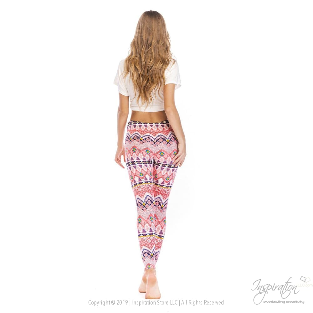 Yoga Band Material Leggings - (Style #39) Free Shipping - Leggings - Inspiration Store Llc