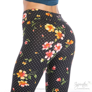 Yoga Band Material Leggings - (Style #46) Free Shipping - Leggings - Inspiration Store Llc
