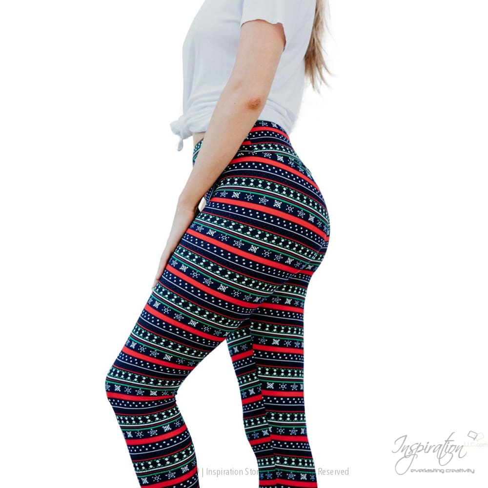 Yoga Band Material Leggings - (Style #86) Free Shipping - Leggings - Inspiration Store Llc