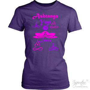 Yogi Womans Top - Laura (Style B) Free Shipping - T-Shirt - District Womens Shirt / Purple / Xs - Inspiration Store Llc