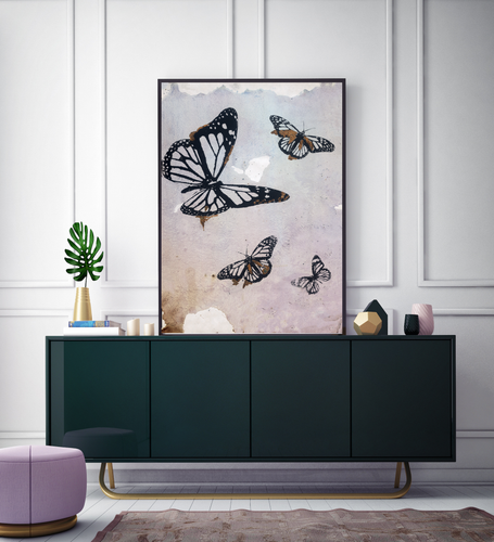 Autumn Butterflies II - Limited Edition Fine Art Print