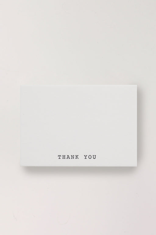 Letterpress Mini Cards - Thank You