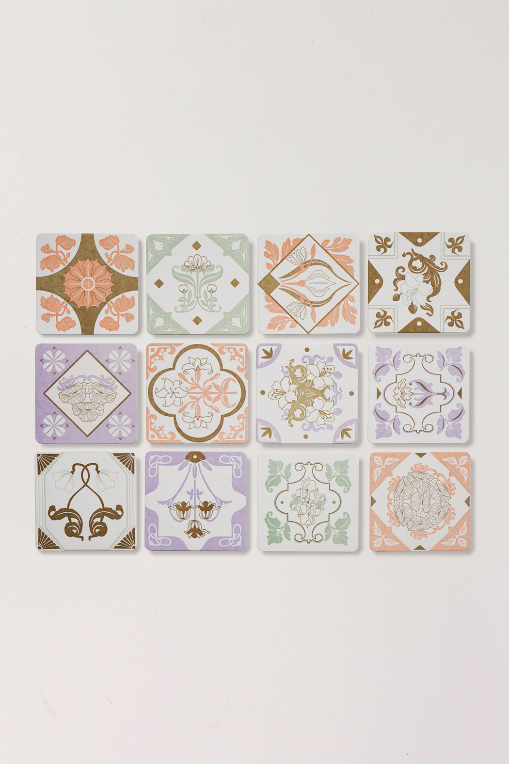 Peranakan Coaster Set