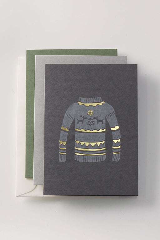 (Not) Ugly Sweater Greeting Card