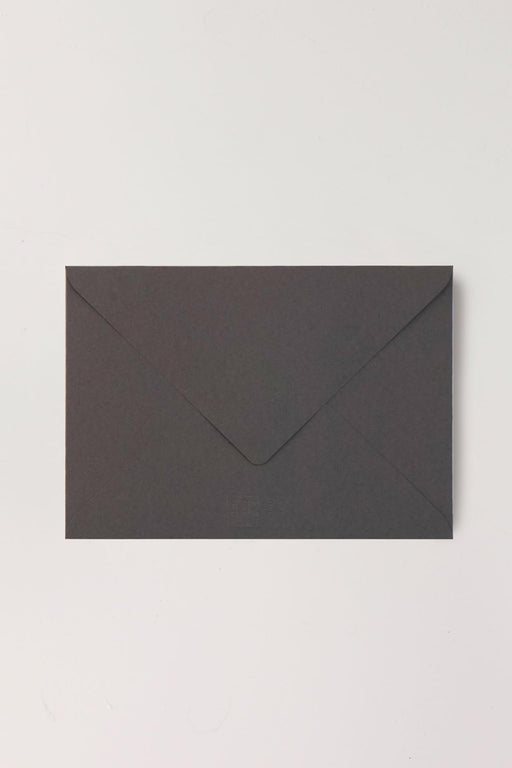 B6 Dark Grey Envelopes