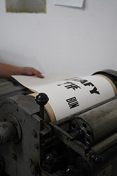 Festive Season Letterpress Workshop