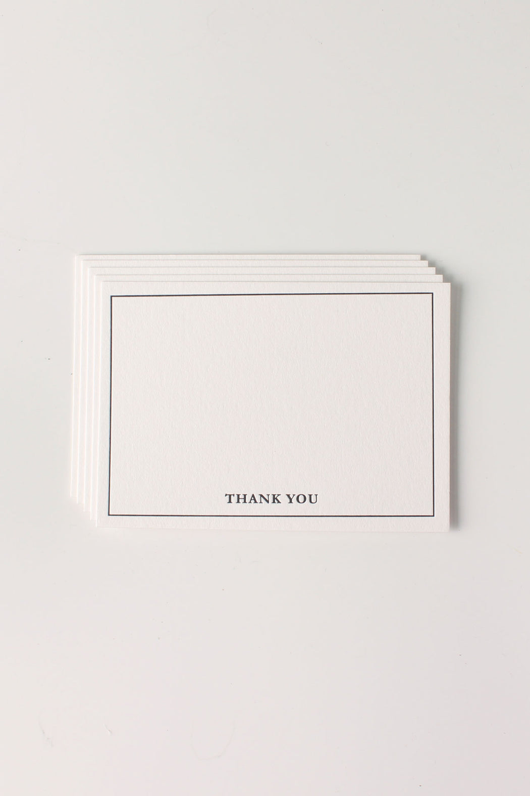 Letterpress Mini - Thank You (Pack of 5)
