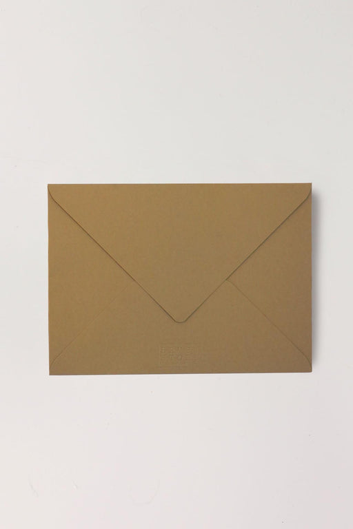 B6 Harvest Brown Envelopes