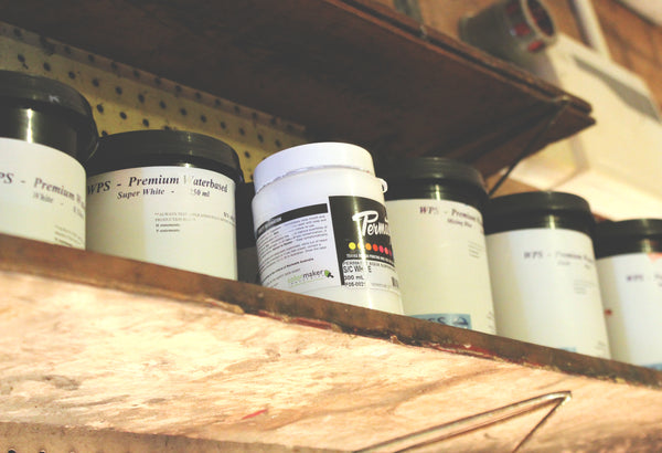 Flood Clothing Co. Inks on Shelf