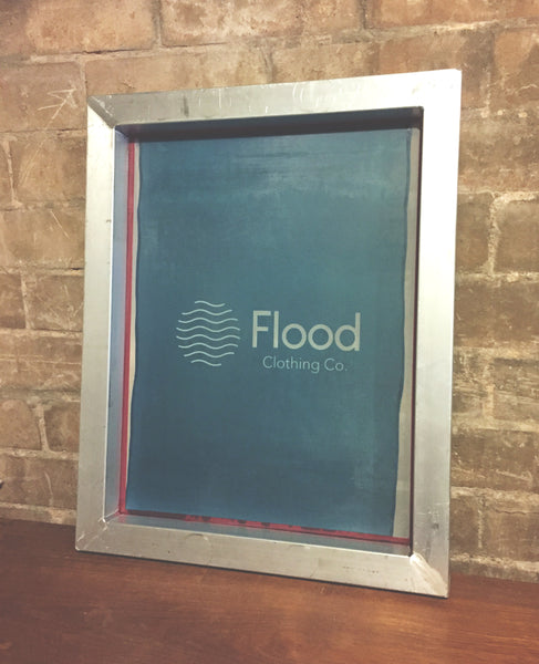 Flood Clothing Co. Screen / Stencil