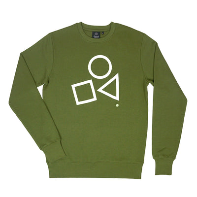 Primary Shapes - Khaki.