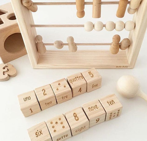 ORIGINAL PEG DOLL ABACUS
