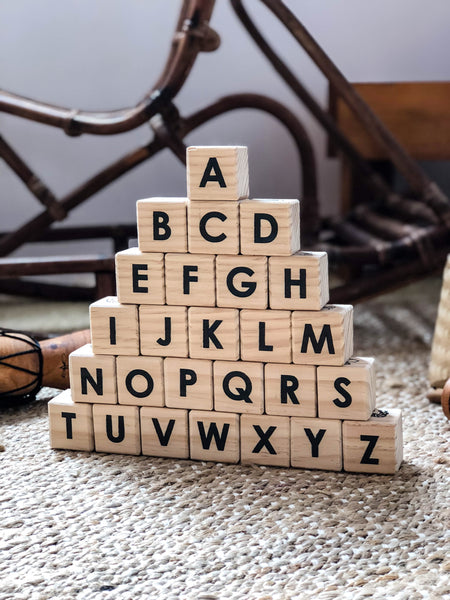 Educational Alphabet Blocks (SOLD OUT)