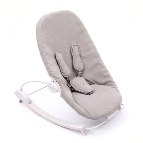 Bloom Coco Go Lounger - White & Frost Grey