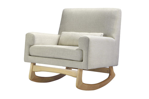 Nursery Works Sleepytime Rocker - Oatmeal With Light Legs