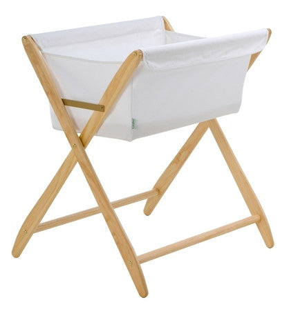 Cariboo Folding Bassinet - Natural