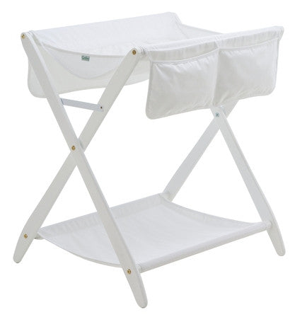 Cariboo Folding Change Table - White