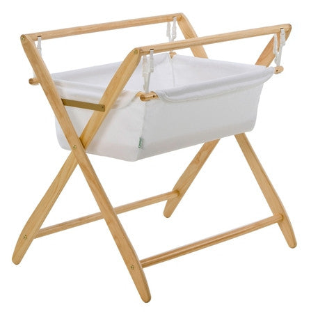 Cariboo Gentle Motions Bassinet - Natural
