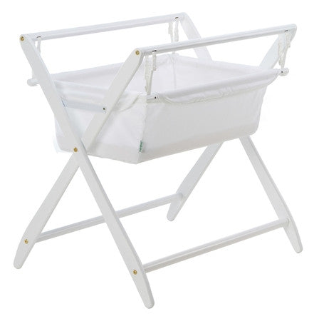 Cariboo Gentle Motions Bassinet - White