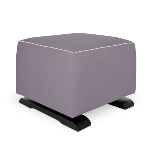 Olli Ella On-It Storage Ottoman - Musk with Snow Accent