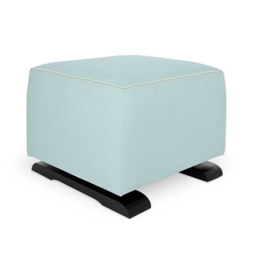 Olli Ella On-It Storage Ottoman - Sky with Snow Accent