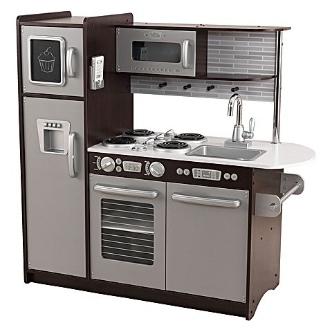 KidKraft Uptown Espresso Play Kitchen