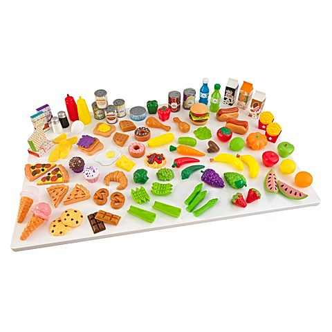 KidKraft Tasty Treat Pretend Food Set