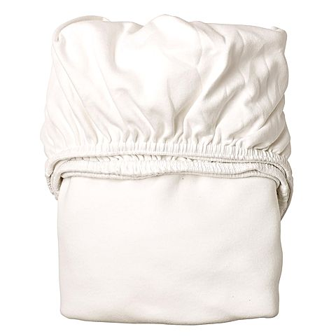 Leander Fitted Cot Sheets (Set of 2) - White